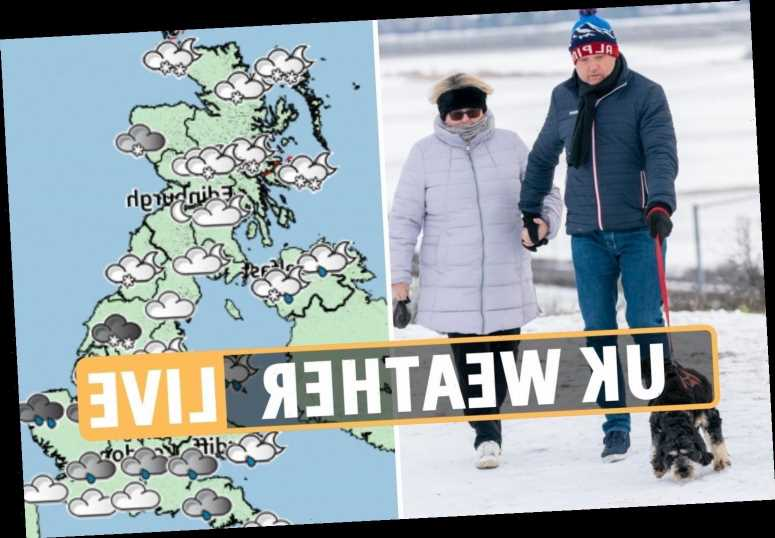 Easter weather forecast – Met Office issues yellow weather warning as -5C Arctic plunge to bring snow, sleet and hail