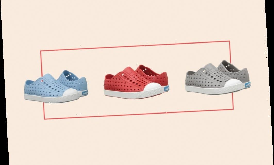 Crocs Meet Sneakers With This Must-Have Spring Shoe for Kids—& Yes, They're Washable!