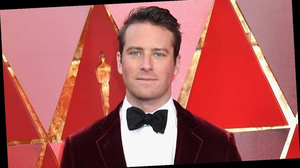 Armie Hammer exits Broadway play 'The Minutes' after sexual assault allegations