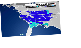 National weather forecast: Unseasonably cold temperatures in eastern US