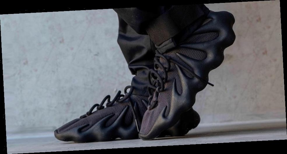 """Take an on-Foot Look At the adidas YEEZY 450 """"Dark Slate"""""""