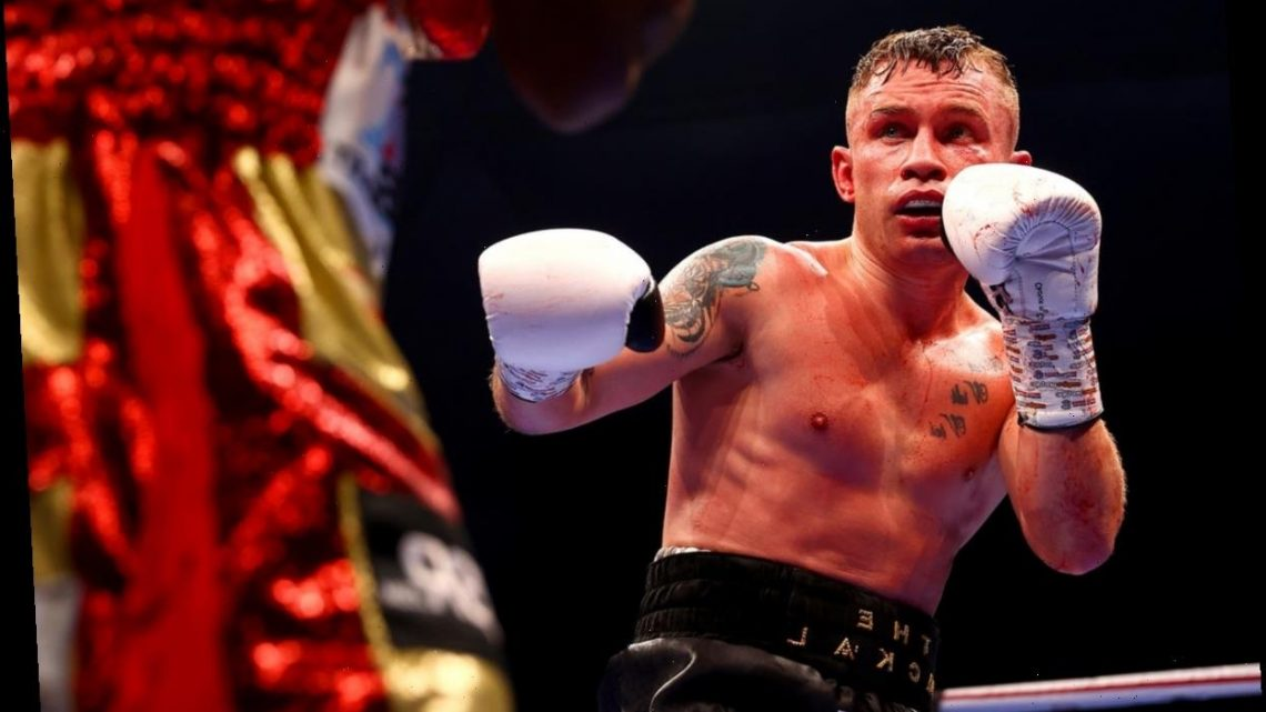 Brave Carl Frampton bows out with brilliant legacy after cruel defeat by Jamel Herring