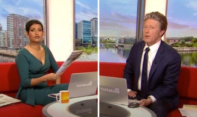 'Doesn't make any sense!' Charlie Stayt fumes over BBC co-star Naga Munchetty's revelation