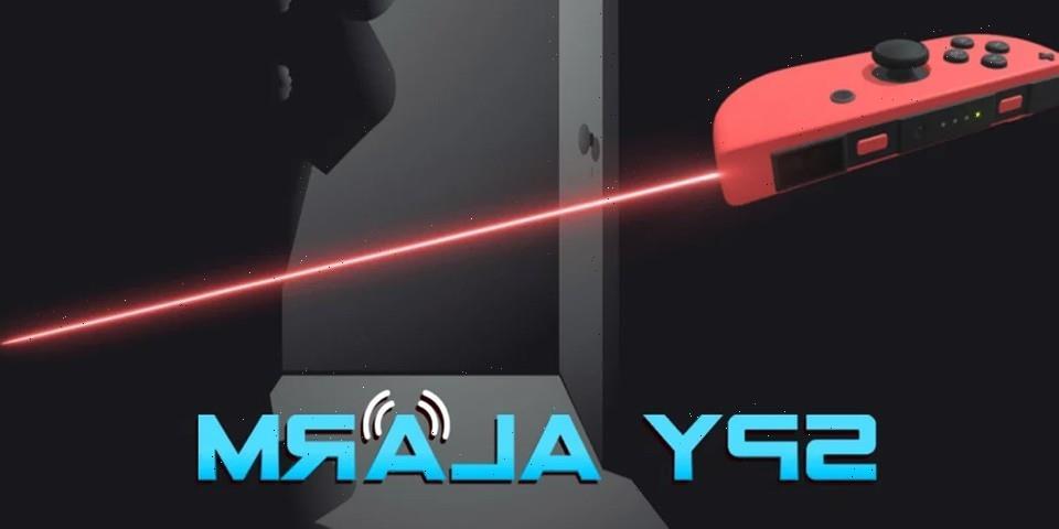 'Spy Alarm' Will Turn Your Nintendo Switch Joy-Con Into an Infrared Tripwire