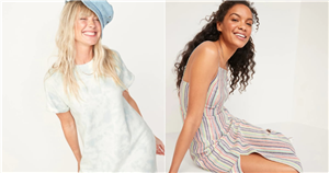21 Chic Old Navy Dresses We Found on Sale — and Promptly Added to Our Cart