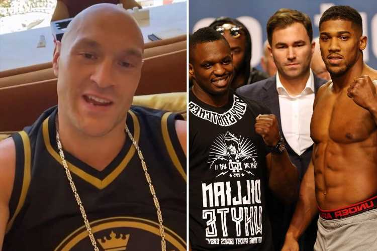 Anthony Joshua joins old foe Dillian Whyte in calling Tyson Fury 'Luke' after claims he changed it to sound 'harder'
