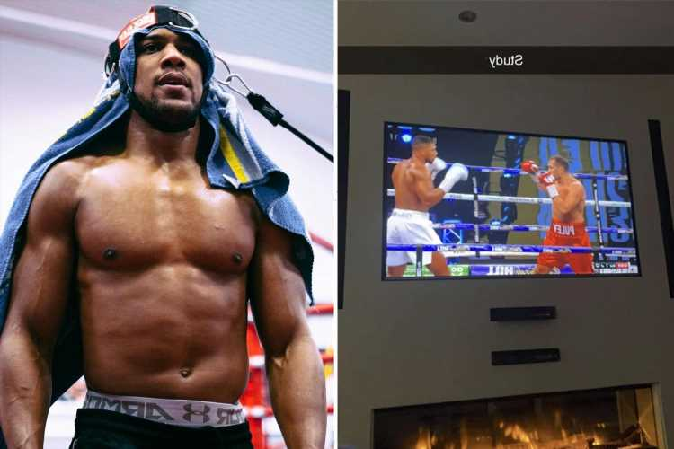 Anthony Joshua studies Kubrat Pulev win as he ramps up training and preparation for tough Oleksandr Usyk fight