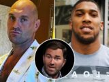 Anthony Joshua vs Tyson Fury fight is 'DONE' confirms Eddie Hearn with announcement coming 'very soon'