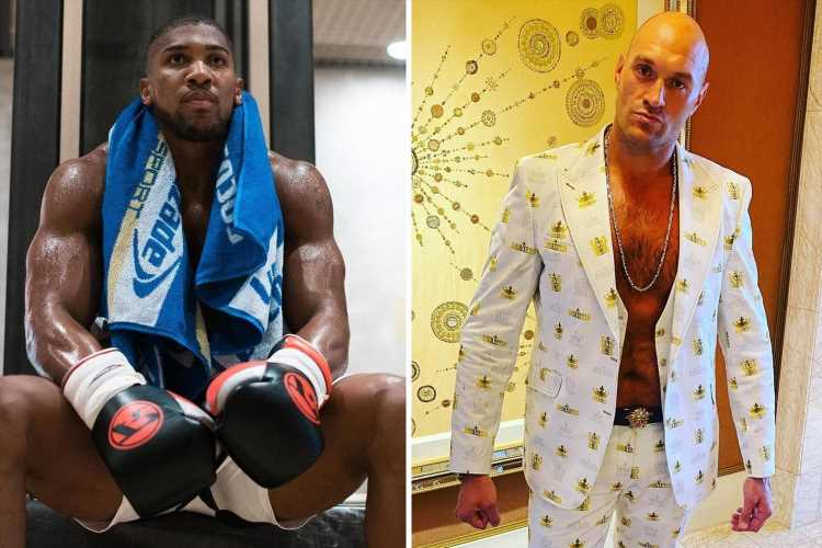 Anthony Joshua wants to know where Tyson Fury's £7m charity donation is before signing up for a £20m bare-knuckle fight