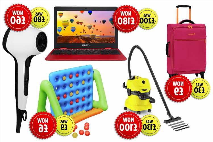 Argos is having a Bank Holiday sale with up to 70% off laptops, vacuums and toys