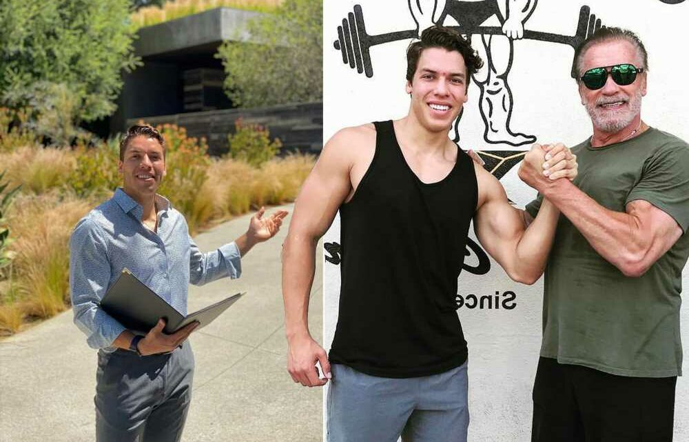 Arnold Schwarzenegger's son, Joseph Baena, is a real estate agent