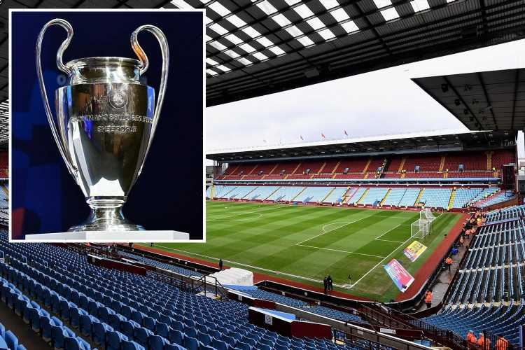 Aston Villa offer to host Champions League final between Chelsea and Man City with fears over coronavirus ravaged Turkey