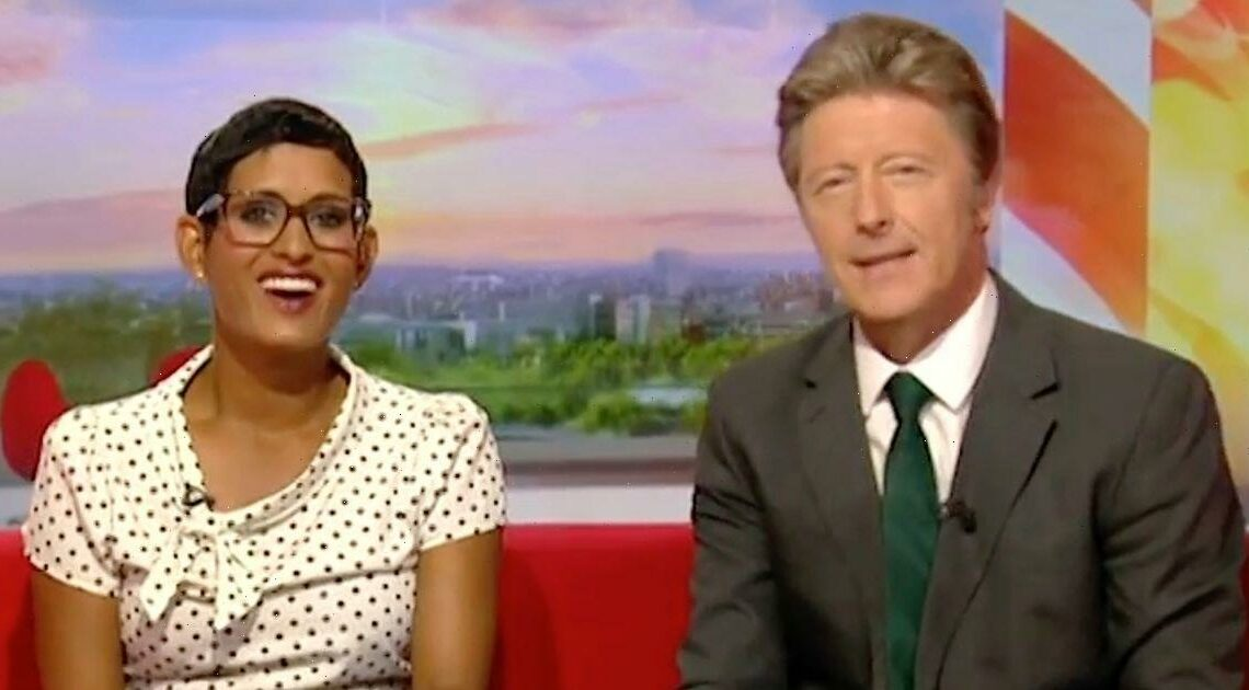 BBC Breakfast fans baffled as Naga Munchetty and Charlie Stayt replaced again