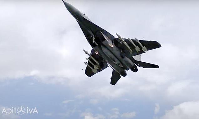 Belarus MiG-29 'threatened to SHOOT DOWN' Ryanair jet