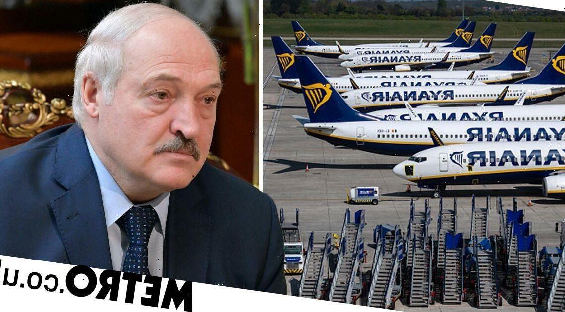 Belarus President accused of 'hijacking' Ryanair flight to arrest key opponent
