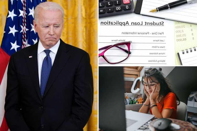 Biden set to BREAK campaign promise to cancel $10,000 student loan debt