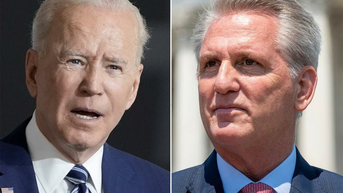 Biden's $6trillion budget slammed as the most 'reckless and irresponsible in my lifetime' by GOP leader Kevin McCarthy