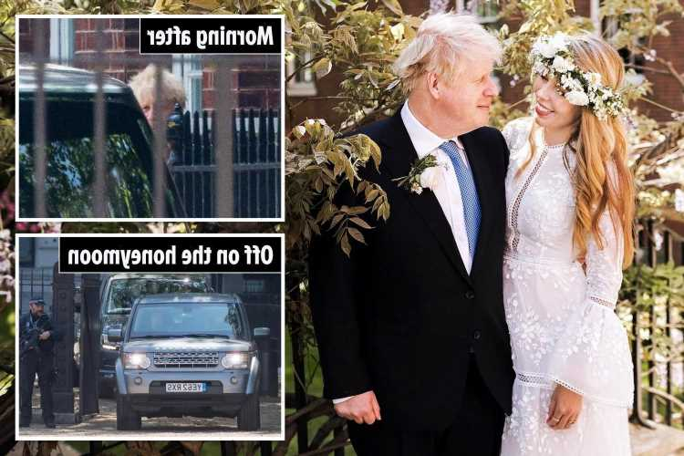 Carrie Symonds becomes first Mrs Johnson after taking Boris Johnson's last name