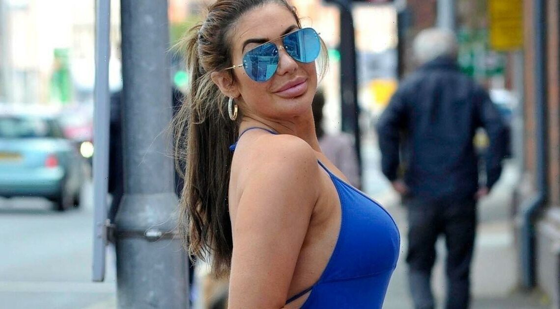 Chloe Ferry rocks a skintight jumpsuit as she heads to beauty salon after quitting social media over trolling