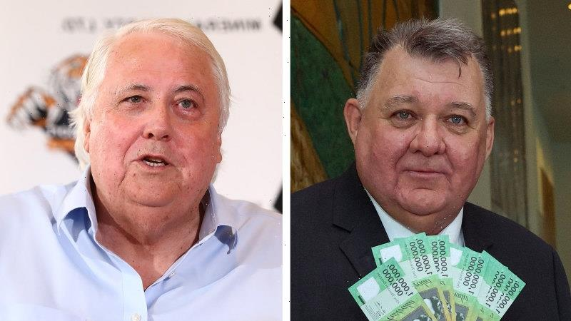 Clive Palmer to help Craig Kelly take on Facebook, fight election