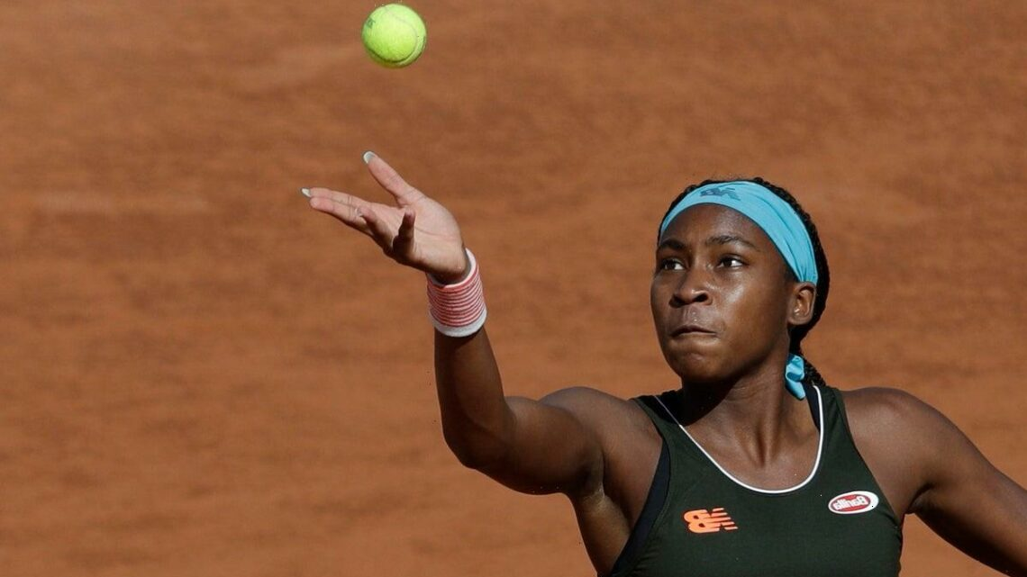 Coco Gauff beats Wang Qiang in straight sets to claim second WTA title