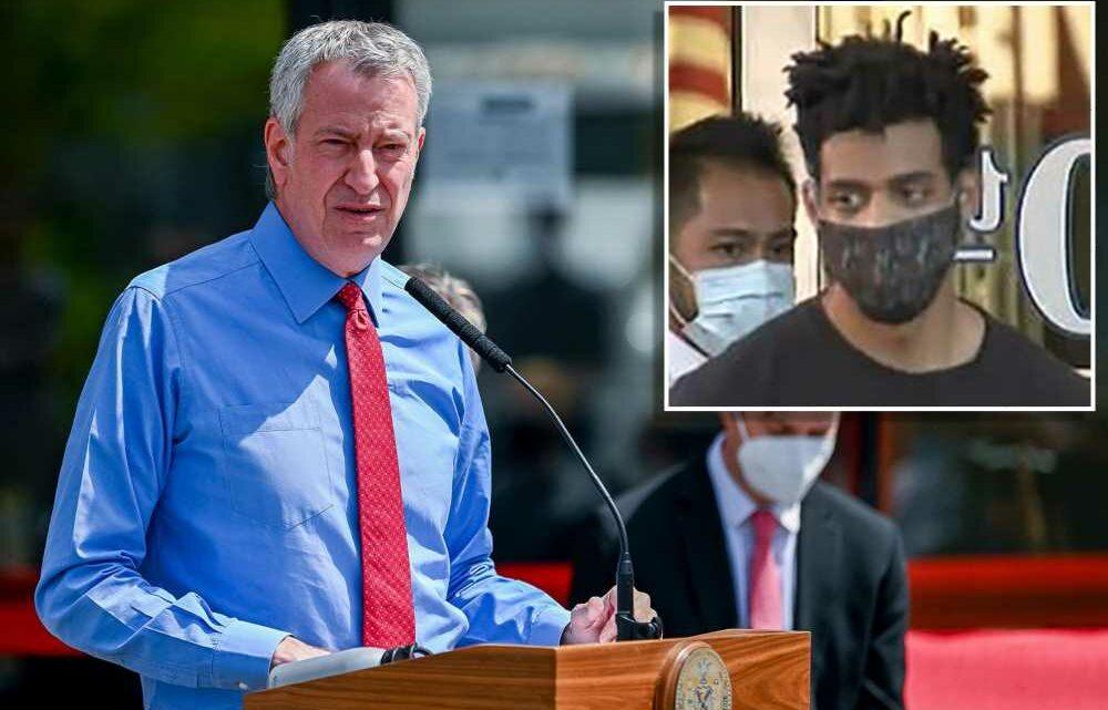 De Blasio praises judge who tried to jail alleged Bronx synagogue vandal