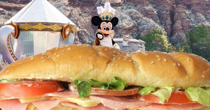 Disneyland Restaurant Selling $100 Sandwich Fit For A Family