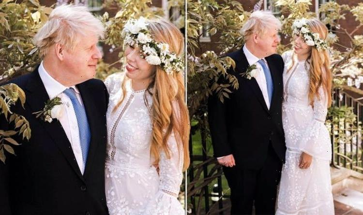 'Divine', 'gorgeous', 'Jenny in Forest Gump': Public reacts to boho bride Carrie Symonds