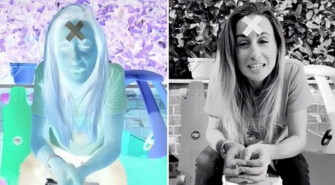 Doctor's incredible brain trick which makes you see colour in black & white pic