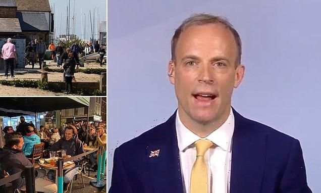 Dominic Raab rejects calls to speed up lockdown exit