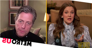 Drew Barrymore recalls 10-minute drunk kiss with Hugh Grant on wild night out