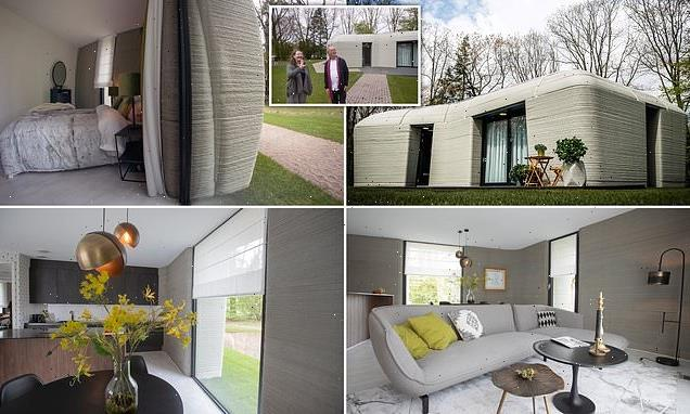 Dutch couple move into Europe's first 3D-printed home