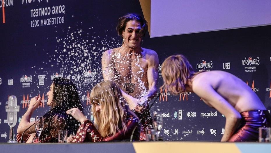 Eurovision winner Damiano David of Maneskin says he'll take a drug test after denying doing drugs on live TV