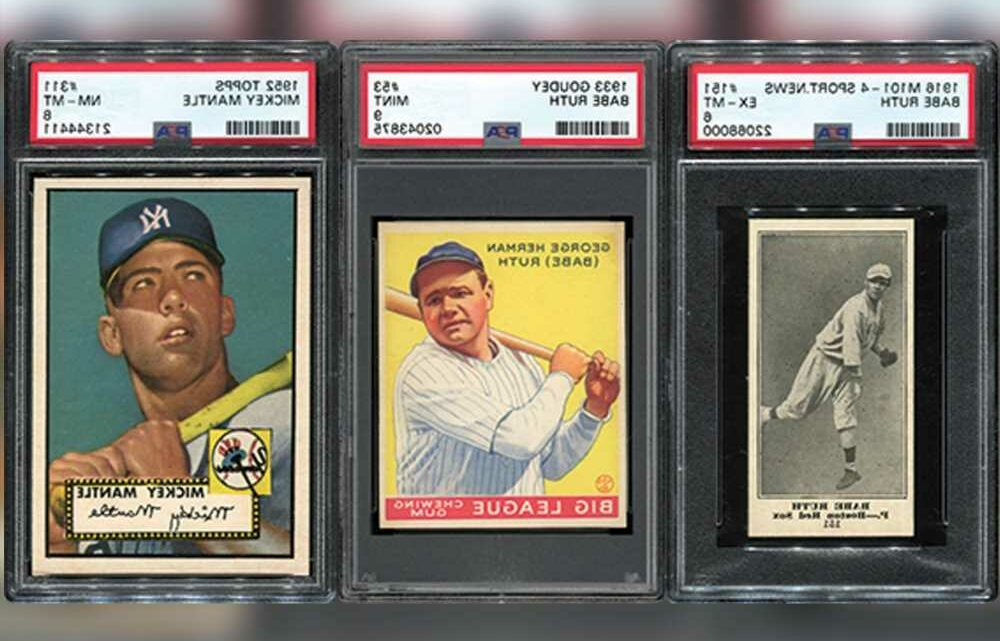 Florida man who died from COVID-19 left his family baseball cards worth $20 million