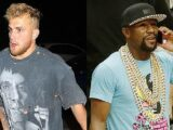 Floyd Mayweather Charges At Jake Paul After YouTube Star Snatches His Hat: 'I'll Kill You' — Watch