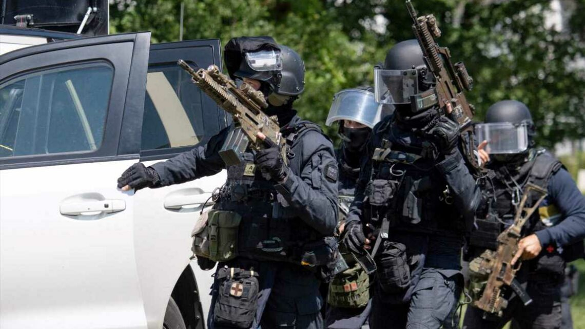French police woman fighting for life after stabbed & 2 others injured in Nantes 'terror attack' as knifeman shot dead