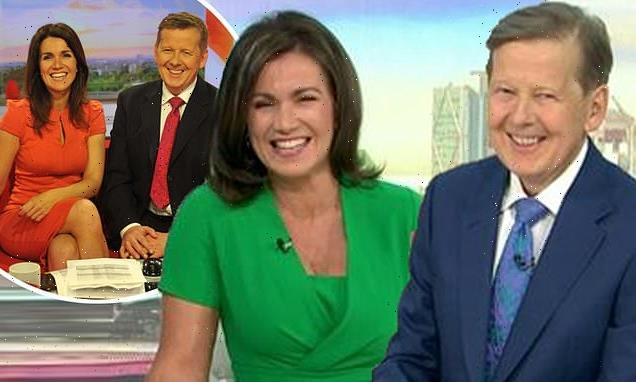 GMB viewers share delight as Susanna Reid and Bill Turnbull reunite