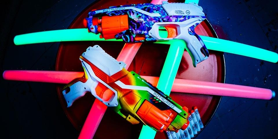 HYPE. and NERF Team Up For a Pair of Limited-Edition Blasters