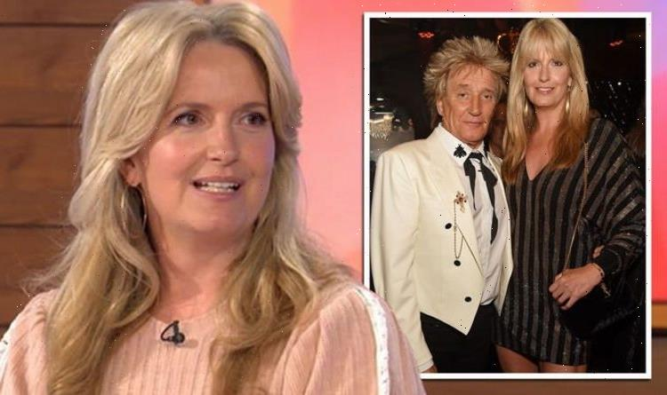 'He was anxious' Penny Lancaster highlights Rod Stewart concerns as she starts new role