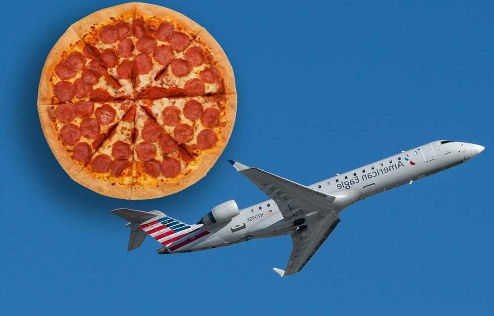 Hero pilot buys passengers pizza after plane gets diverted