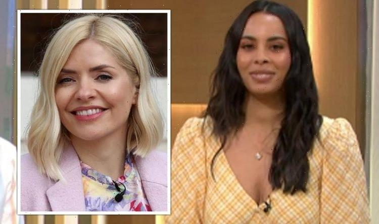 Holly Willoughby replaced on This Morning as Rochelle Humes steps in to present