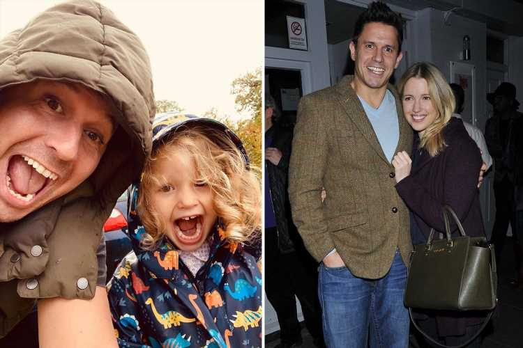 Hollyoaks star Jeremy Edwards, 50, admits his new baby is 'hard work' and says he 'feels quite old'