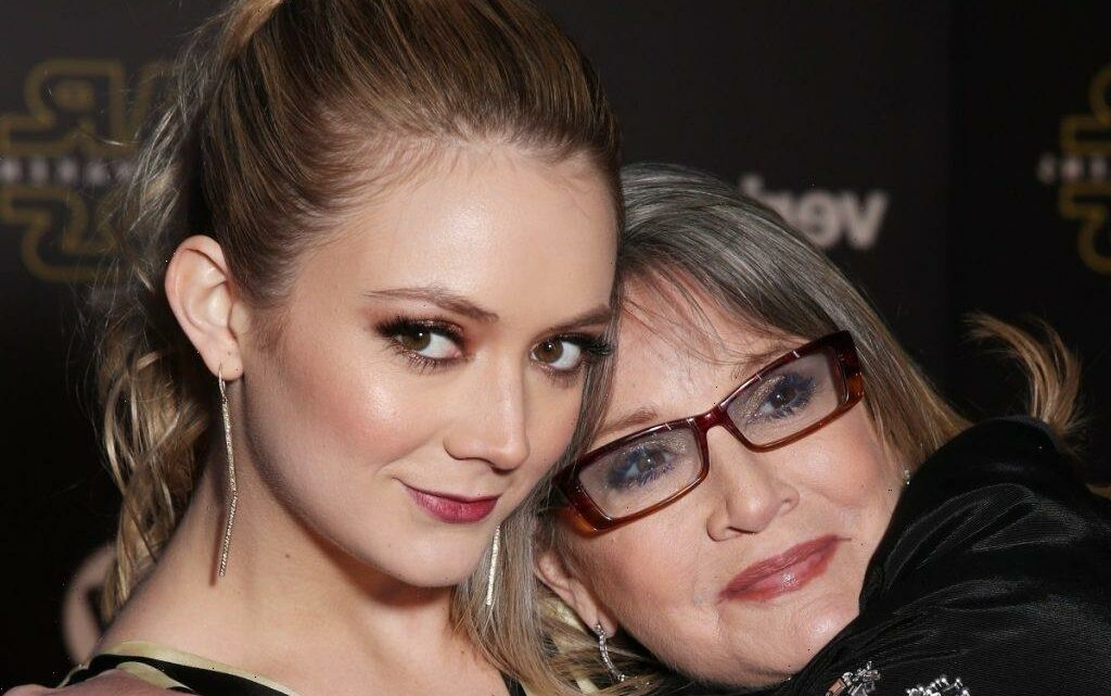 How Carrie Fisher's Grandson Celebrated May the Fourth with Mom Billie Lourd