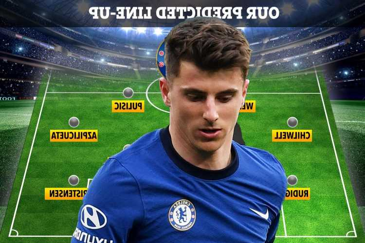 How Chelsea could line up against Real Madrid with Mount FIT after injury scare but Kovacic still ruled out
