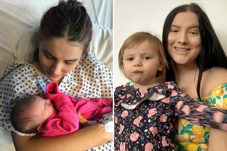 I had no idea I was pregnant until I was rushed to hospital and gave birth – I thought I just had a stomach ache