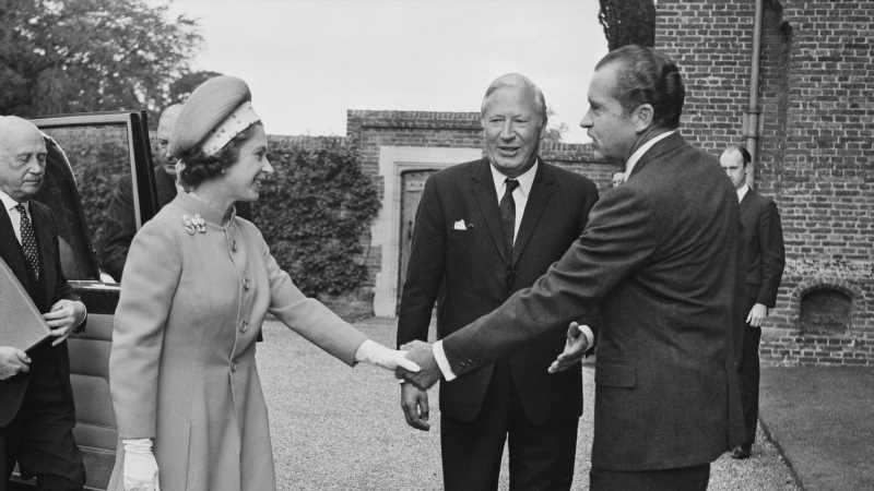 Inside Queen Elizabeth's Relationship With Richard Nixon