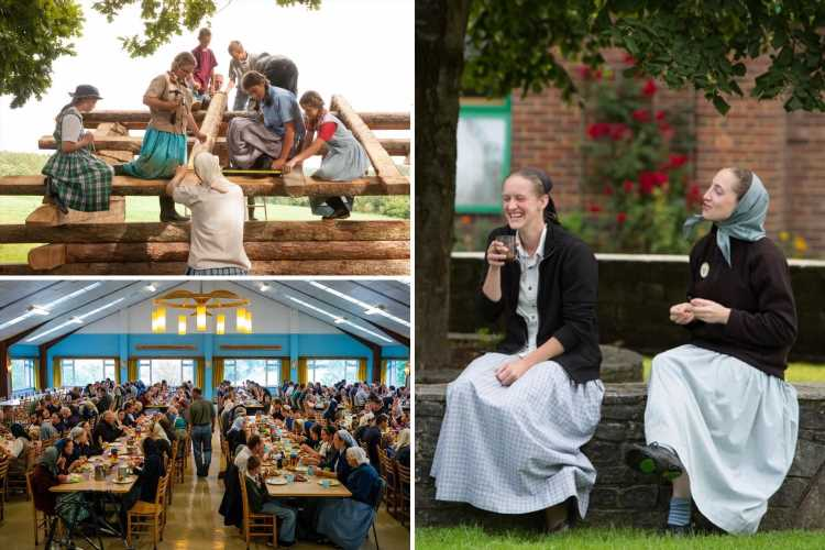 Inside the religious sect in the UK where phones are banned & women wear long skirts & ask permission before 'courting'