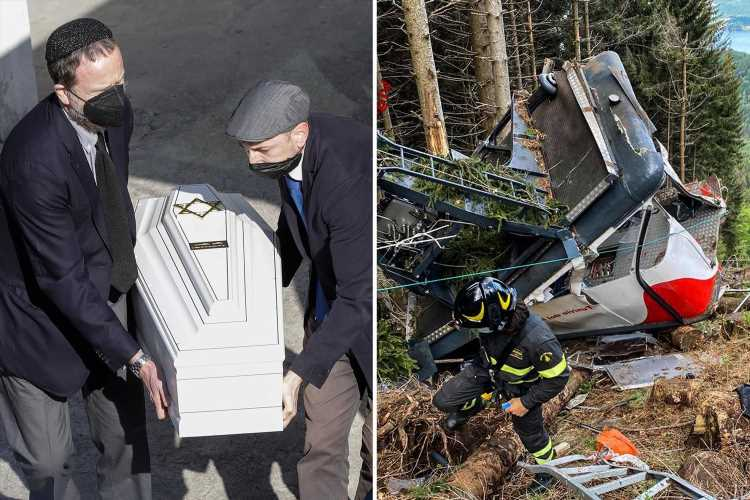 Italy cable car technician told cops 'it's all my fault' over deadly crash as suspects face 'very high' jail time