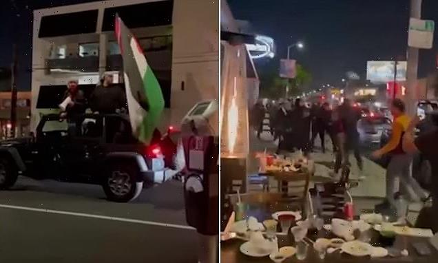 Jewish diners at LA sushi restaurant attacked by pro-Palestine mob
