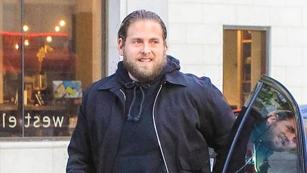 Jonah Hill's Pink Hair Makeover: Actor Debuts New Colored Locks — Before & After Pics